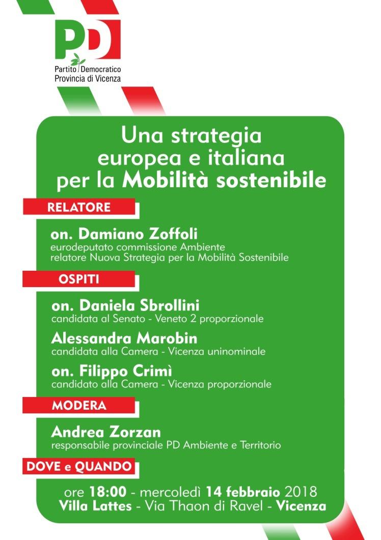20180213 Vicenza Mob sostenibile