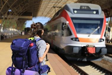 Backpacker-train